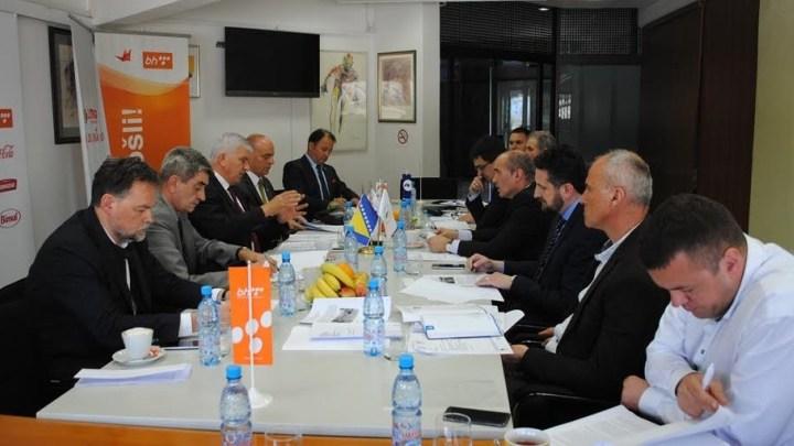 Radna grupa EYOF 2019 na sastanku u OKBiH