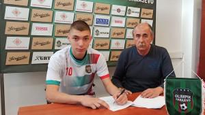 Aid Tabaković potpisao ugovor sa FK Olimpik