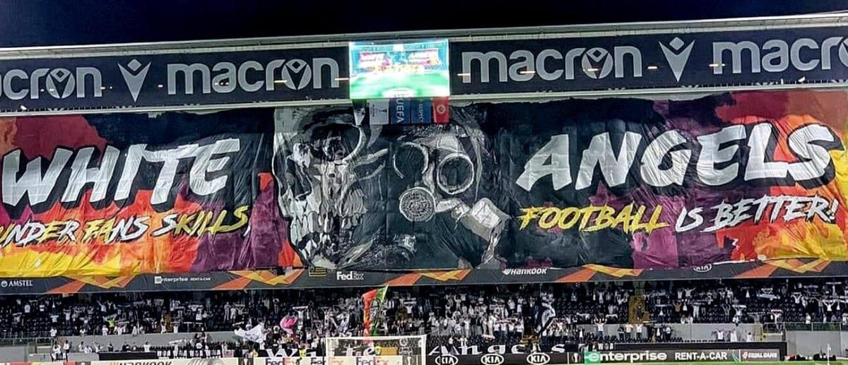 Protest navijača protiv UEFA-e: Morate se dobro zagledati u koreografiju da otkrijete tajnu poruku