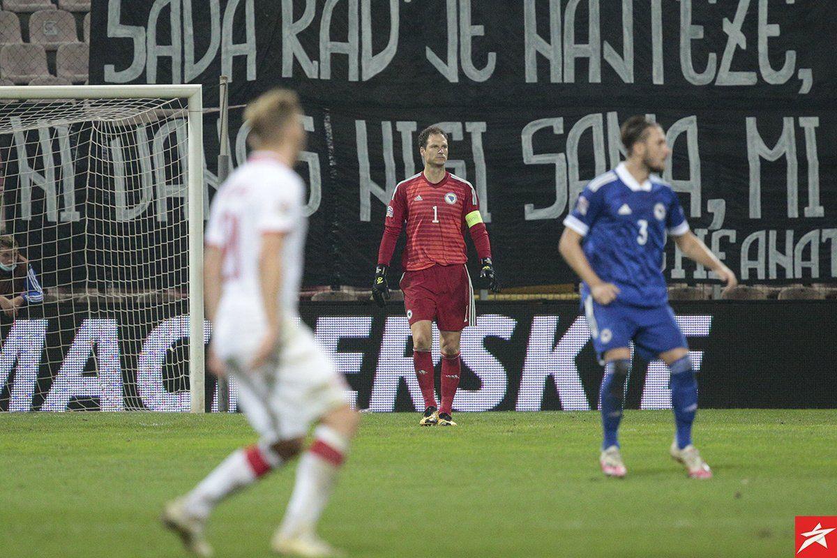 Jasna poruka Asmira Begovića na Instagramu nakon meča u Zenici