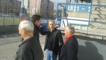 Selektor BiH u posjeti stadionu na kojem je stasao