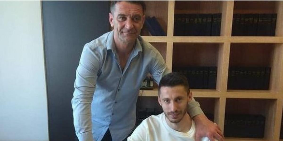 Miloš Filipović potpisao za Larissu