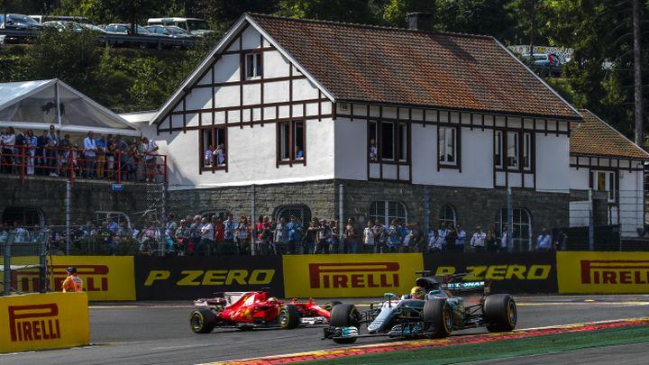 Hamilton na stazi Spa vodio od početka do kraja