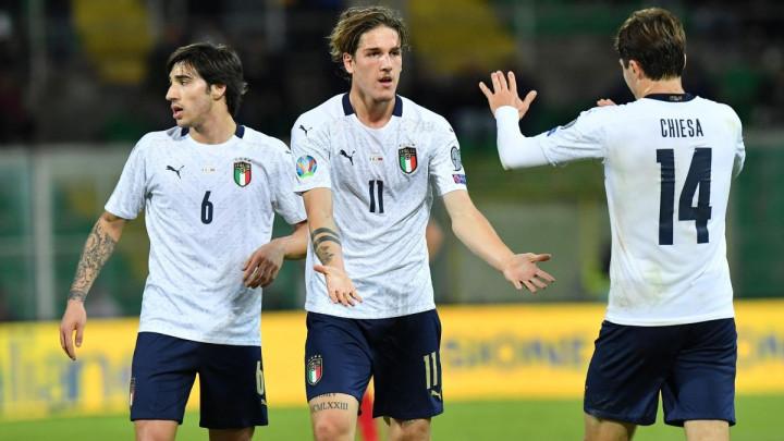 Skauti Uniteda su bili na utakmici Italije i imali su šta za vidjeti