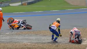 Težak pad Marca Marqueza na Tajlandu