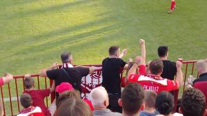 Navijači FK Sarajevo danas navijali za FK Velež