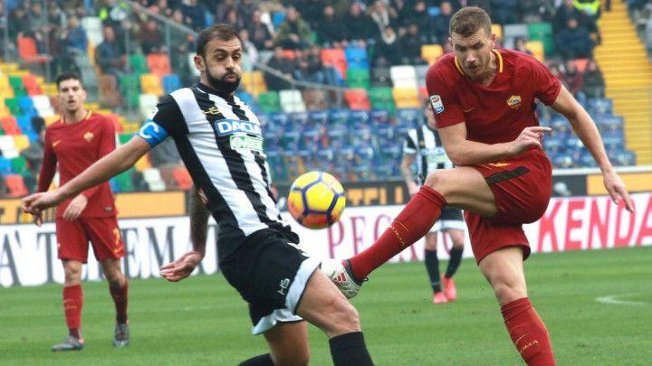Džeko: Roma je u dobroj formi, uživamo u novom sistemu