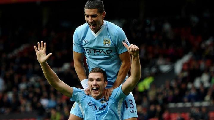 Džeko: Još uvijek pratim Manchester City, pobjeda protiv Uniteda od 6:1 je bila posebna