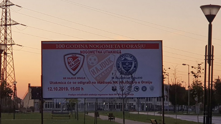 Željezničar danas uveličava jubilej Hajduka iz Orašja