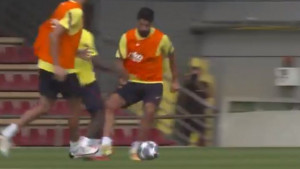 Konačno se vratio: Dembele posramio Luisa Suareza na treningu