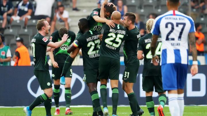 Wolfsburg iskoristio sve slabosti Herthe i ostvario visoku pobjedu
