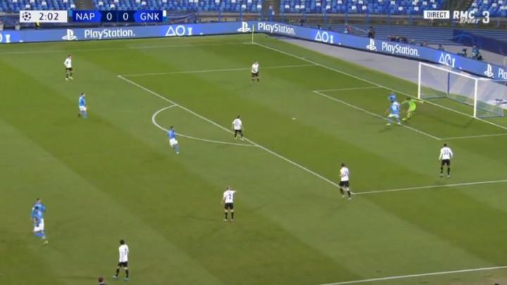 Mladi golman Genka nije na gori način mogao debitovati u Ligi prvaka