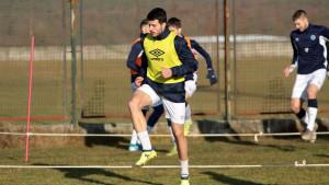 Nemanja Tomašević na probi u FK Željezničar