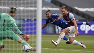 Everton West Hamu pokvario san o Ligi prvaka