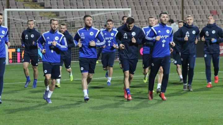 Reprezentacija BiH trenirala u Zenici uoči sutrašnjeg duela protiv neugodne Grčke