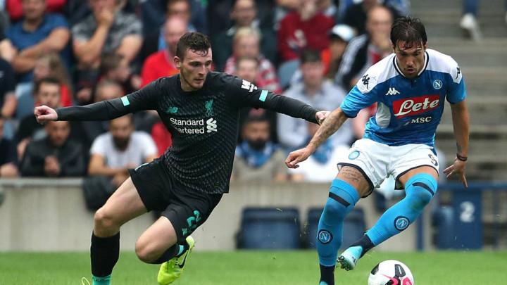 Robertson otkrio kako su dva igrača Liverpoola bila jako ljuta zbog poraza od Napolija