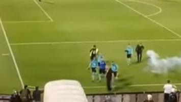 Mažić se sukobio sa navijačima Partizana