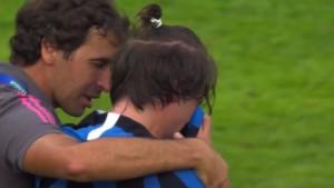 Raul je vidio protivničkog igrača kako plače, a zatim je uslijedio potez na kojem mu svi aplaudiraju
