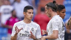 Igrači Reala čudesno ozdrave nakon što napuste Madrid, dokaz je i fotografija Jamesa Rodrigueza