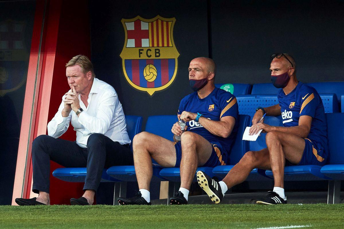 Ronald Koeman ne može sjediti na klupi Barcelone