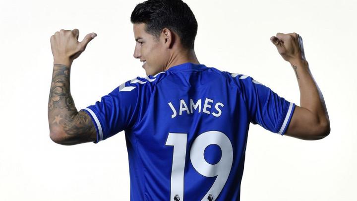 James iznenadio izborom broja u Evertonu, ali je jasno zašto je to uradio