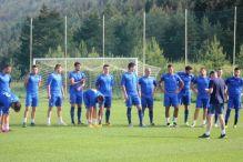 Plavi trenirali na Pohorju, Hervas lakse povrijeđen