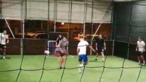 Odmara se kod kuće: Ivan Perišić zaigrao fudbal na terminu s prijateljima