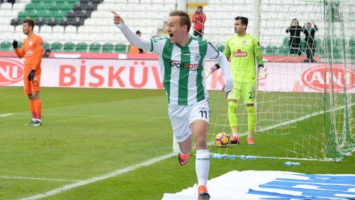 Deni Milošević strijelac u remiju Konyaspora i Trabzonspora