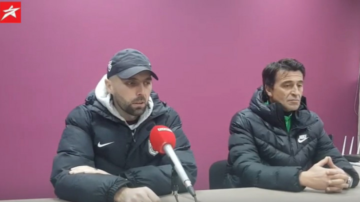 "Dženis Ćosić na press konferenciji govorio o ""slučaju Rahmanović"""
