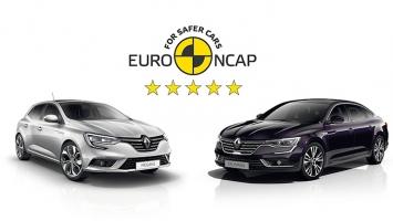 Novi Renault Megane i Talisman okrunjeni sa maksimalnih 5 Euro NCAP zvijezdica za sigurnost