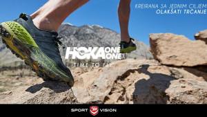 Najbrže rastući premium trkački brend HOKA One One ekskluzivno u Sport Vision radnjama