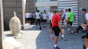 Igrači Sarajeva stigli u Jerevan i odradili prvi trening
