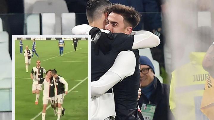 Jesu li se Ronaldo i Dybala poljubili prilikom proslave gola?