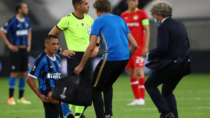 Sanchez zbog povrede bedra upitan za polufinale Evropske lige?