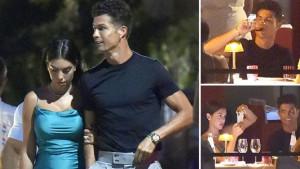 Ronaldo i Georgina napravili ludnicu u Portofinu, a osiguranju je dao samo jedan jedini zadatak
