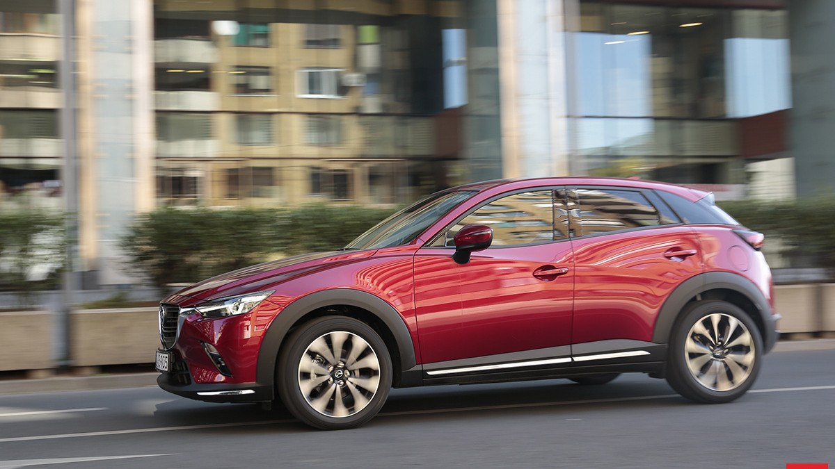 Test Mazda CX-3 G121 Revolution