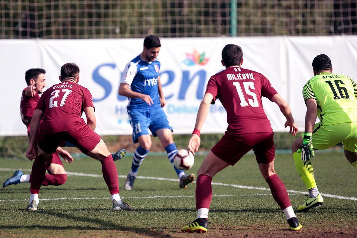 FK Sarajevo remizirao s Radničkim, Mustedanagić zabio dva gola