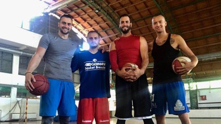 Braća Sedić u Beogradu rade s poznatim košarkašima