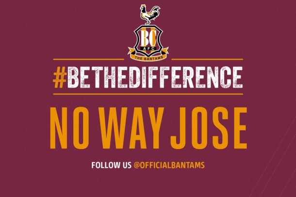 Bradford na Twitteru: Nema šanse Jose!