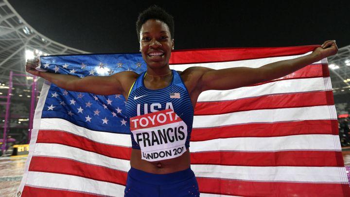 Francis zlatna u Londonu na utrci na 400 metara