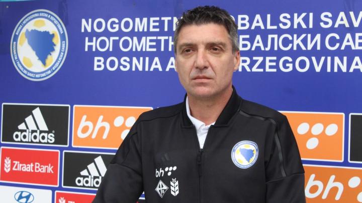 Marinović: Želimo proširiti bazu igrača zato su pojedinci i pošteđeni protiv Malte
