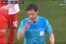 Mažić bio prisiljen prekinuti utakmicu Partizana i Vojvodine