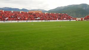 Nezapamćena atmosfera na stadionu Rođeni: FK Velež slavi naslov prvaka!