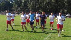 Sjajna atmosfera u redovima Plemića: Trening u Makedoniji prije polaska kući