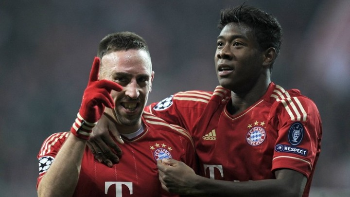 Alaba: Ribery je i dalje potreban Bayernu