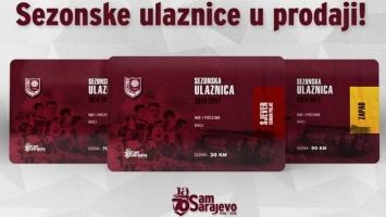 FK Sarajevo: Počela prodaja sezonskih ulaznica