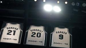 Spursi umirovili dres s brojem 9 Tony Parkera