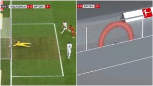Nevjerovatna sreća za M'gladbach: Milimetri spriječili Bayern da stigne do vodstva