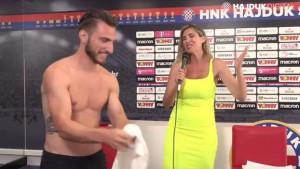 Novi igrač Hajduka se skinuo pred Mirtom Šurjak, a njena reakcija sve govori