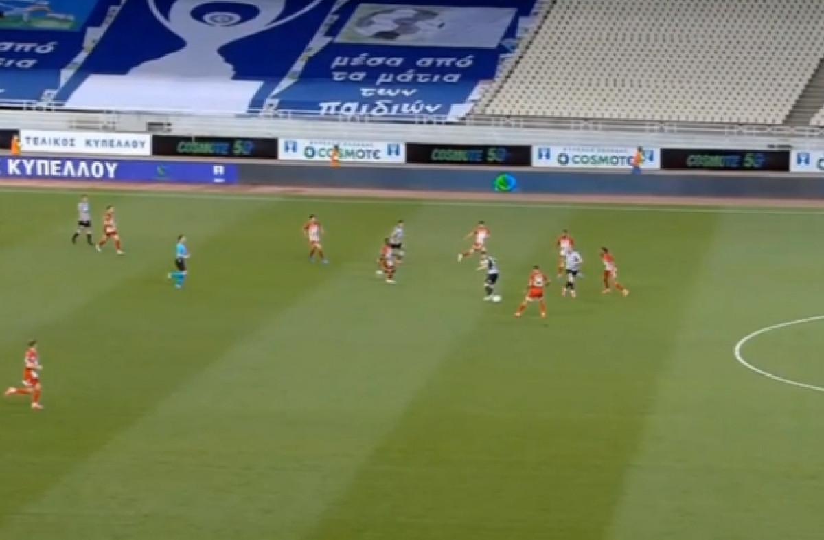 Nestvarna asistencija Andrije Živkovića, PAOK u 90. minuti uzeo trofej protiv Olympiacosa